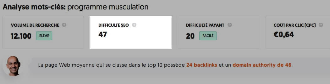 ubersuggest concurrence SEO mots cles